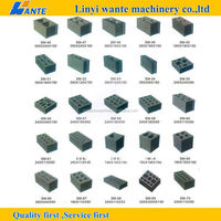 Portable Egg Laying Movable Hollow Block Making Machine Price For Home Business Small Machinery