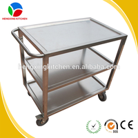 OEM&ODM Service Stainless Steel Trolley /Food Trolley/Hand Trolley Wheel