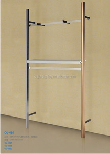 hot sale adjustable hardware wall upright post and clothes display rack