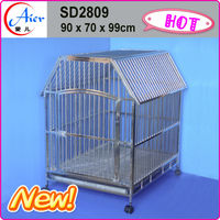dog cage pet strong metal house stainless steel cages for pet dogs