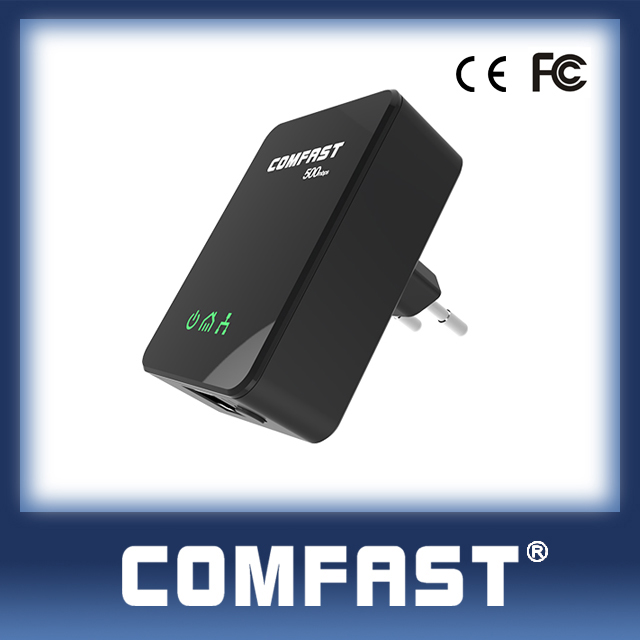Mini 500Mbps powerline homeplug adapter 85-256V 50-60hz