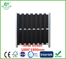 Wood plastic composite Screen decorative wpc fence Panels