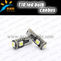 Super bright T10 canbus W5W 3SMD 5050 194 168 Car led light interior lamp