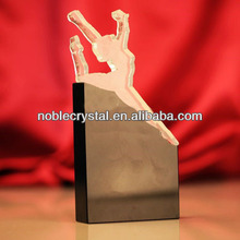 Noble Custom Made Crystal Sports Cutout Trophy Award