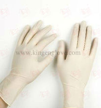 color surgical gloves latex