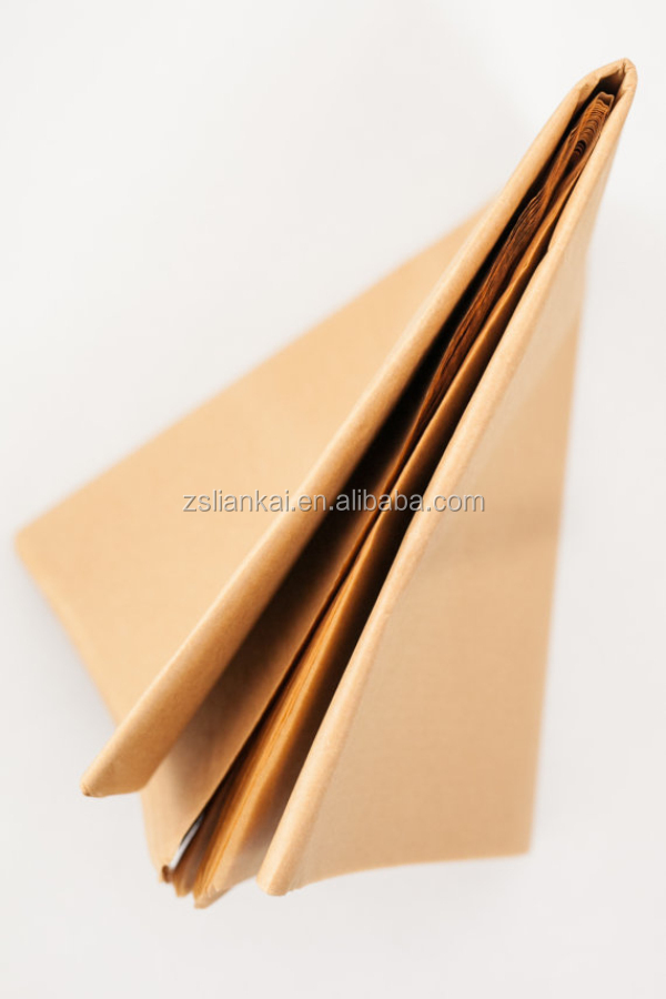 Recycled kraft brown wrapping tissue paper