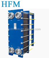 Plate heat exchanger air conditioning units for HVAC