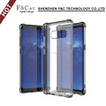 Transparent Soft Plating Tpu Material Cheap Phone Back Case Cover For Samsung Galaxy Note 8