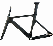 Chinese Fixed Gear 700c carbon fiber track bike frame
