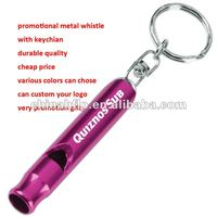 promotional metal Whistle