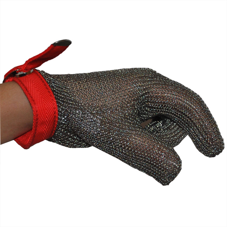 Cut Resistant Butcher Gloves Anti-cutting <strong>Safety</strong> for Kitchen Outdoor