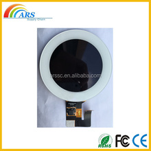 3.3 inch 320*320 very small round lcd display with touch screen