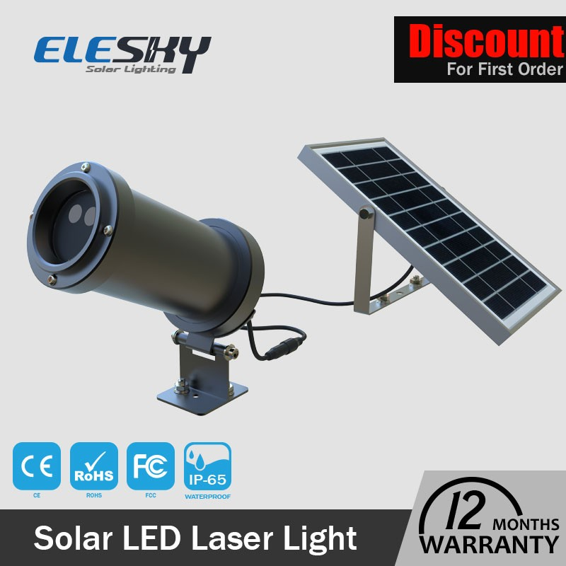 modern design waterproof solar laser star laser light show