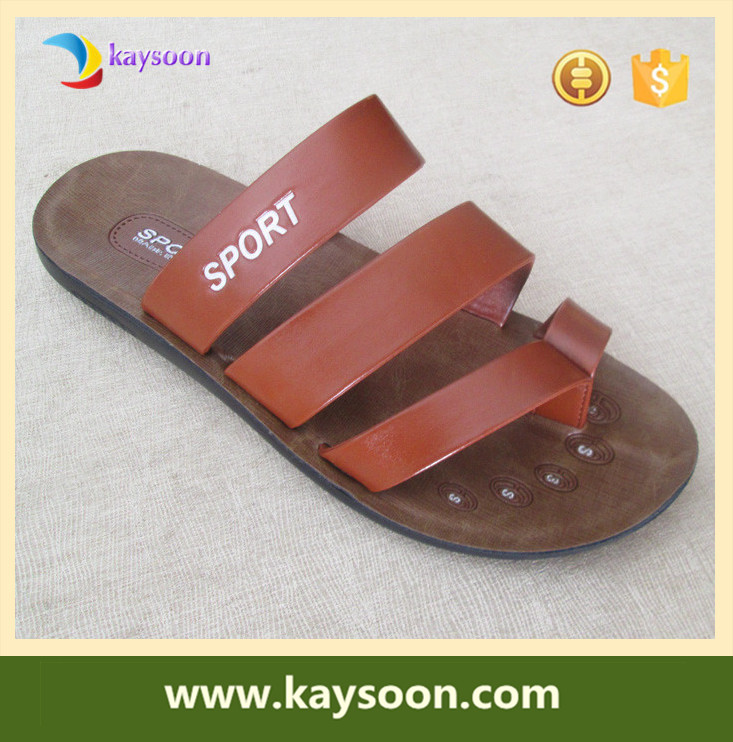 Supreme comfort sandals with man slipper shoes