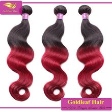 wholesale hair root 1b purple blue red grey colors hot selling paris fashion two tone human hair