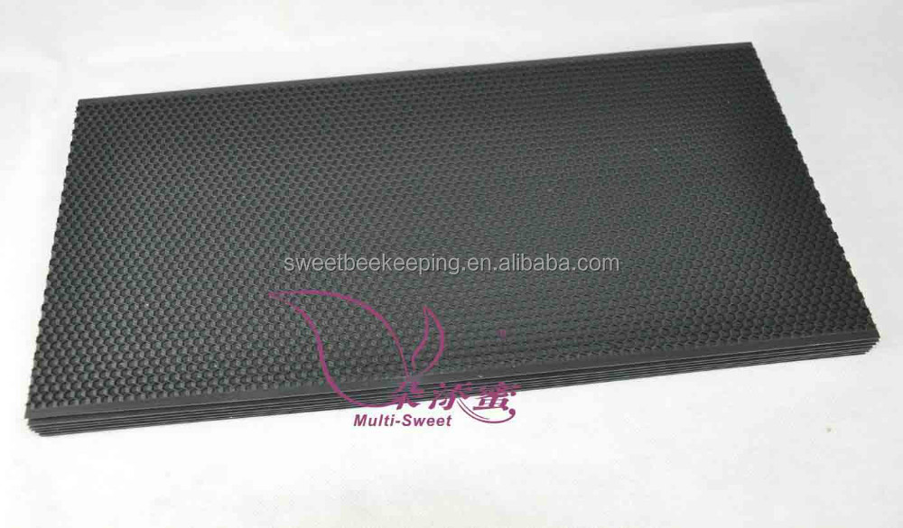 Beekeeping Black Plastic Foundation Sheet/ comb Foundation