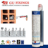 Self-drilling wall anchor screws fastener chemical dowel