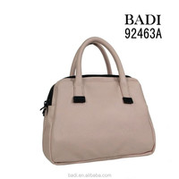 badi gun metal tote bags solid color leather bag woman bag fashion leather handbag for ladies