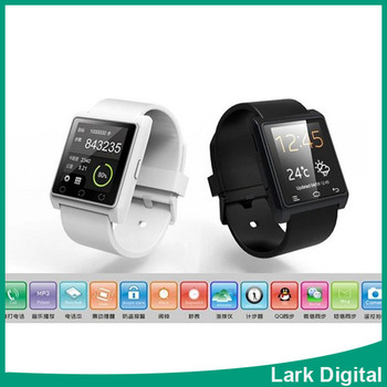 Bluetooth Smart Watch WristWatch U8 Fit for Smartphones IOS Android