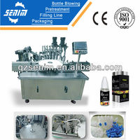 SM-ED30 Full Automatic e liquid filling/capping/labeling machine