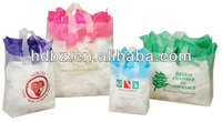 China folding packaging plastic t shirt bags