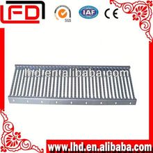 grate stairs tread anti-slip outdoor steel stair with grating staircase