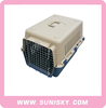 Eco-Friendly luxury plastic dogs carriers high quality pet carrier