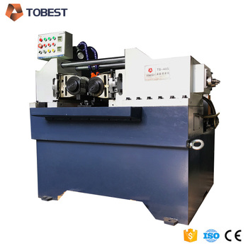 hydraulic rolling machine thread rolling machine flat die TB-40S