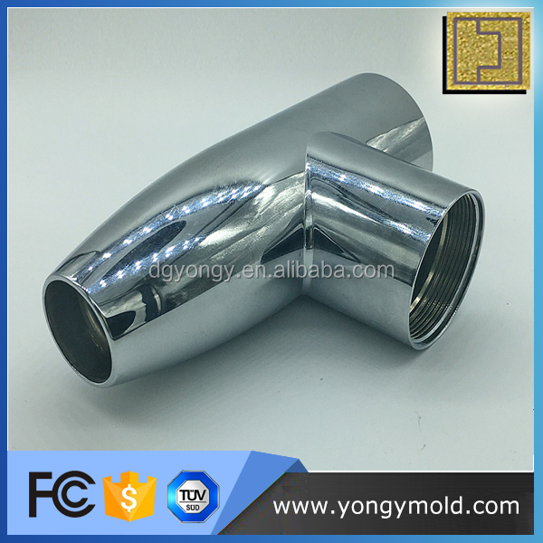 Professional high quality plastic chrome plated parts