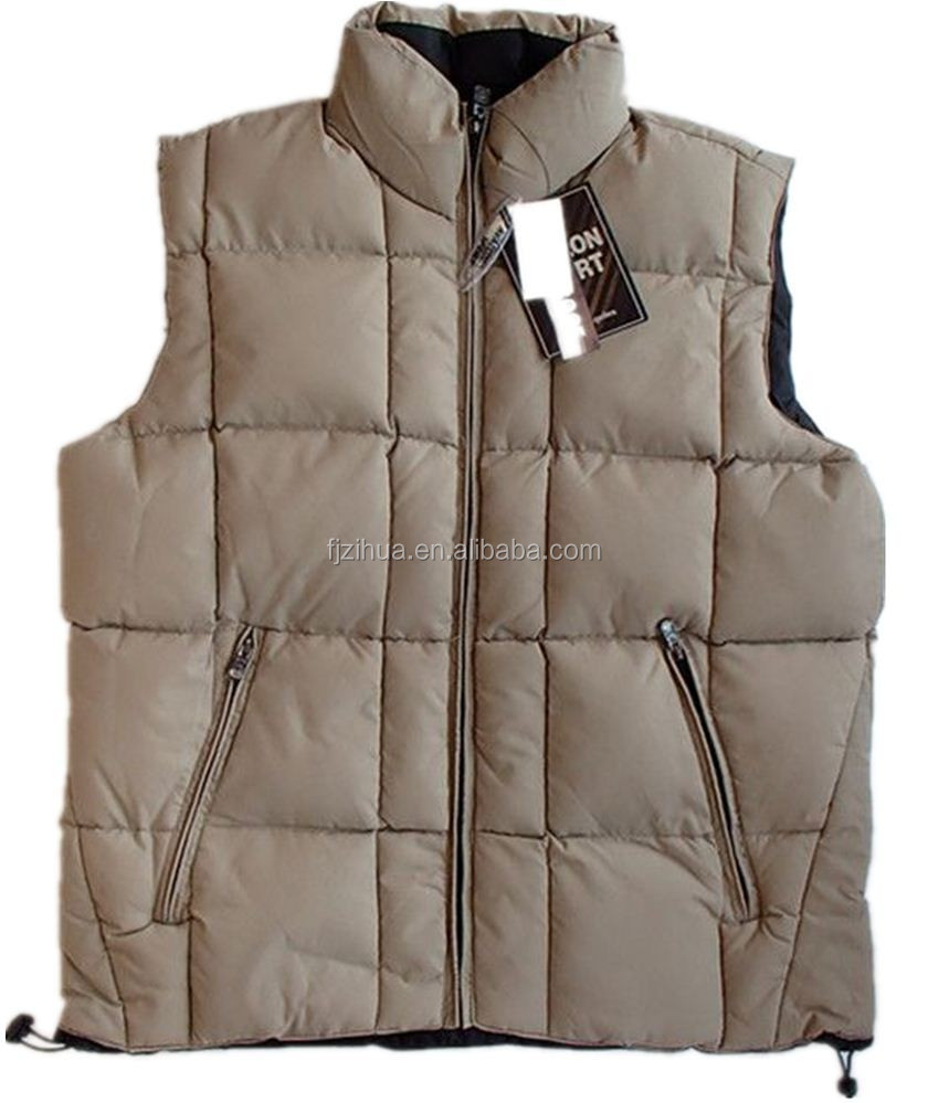 Reversible men Winter sleevless vest