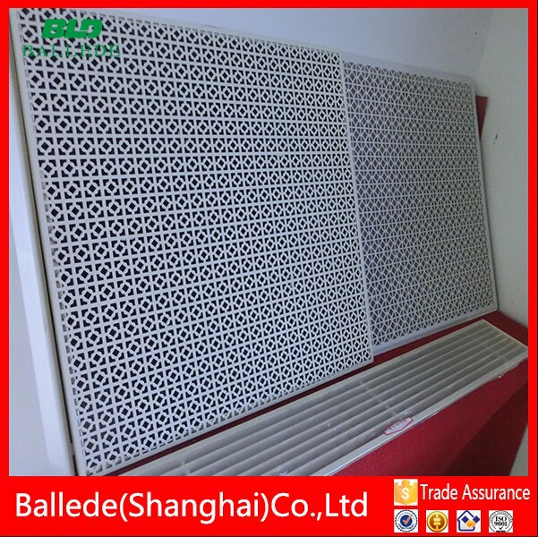 hot sale decorativea luminum alloy air vent screen in ceiling for hvac system