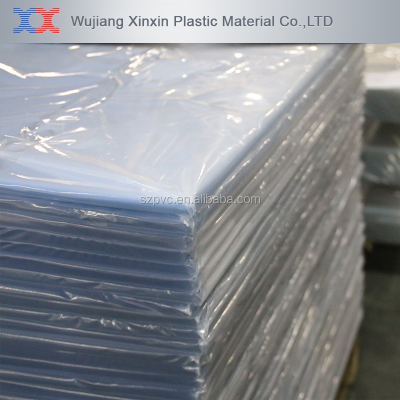 Pvc Sheets Product: Super Clear Pvc Sheet For Vacuuming Or Packing