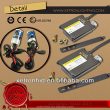 Anti-interference Hid Xenon Conversion Kit canbus ballast with xenon replacement bulb H4 H/L H7 H13 9001 9006