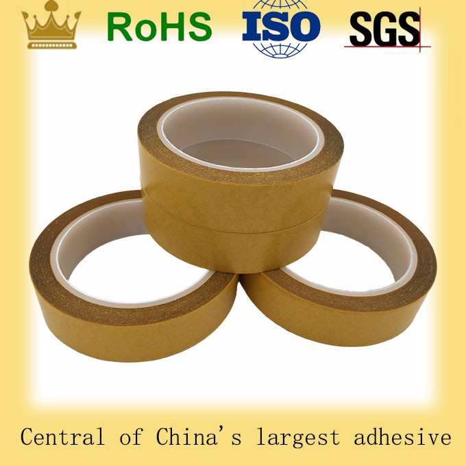 High temperature resistance good quality double side PET/polyester tape