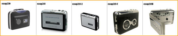 Convert audio cassette to mp3,USB Cassette converter,music cassette tapes player-ezcap218