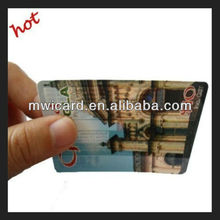 ISO7816 Full Color Printing Contact SLE5542 Smart Card