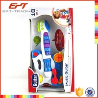 Wholesale baby toys electric guitar with music