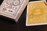 Pvc gold foil printable plastic playing cards