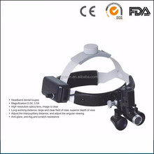 good price 2.5X 3.5X portable led headlight dental surgical loupes