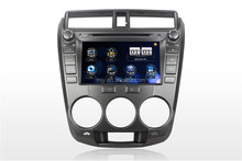 Car DVD supplier from China Digital Touch Screen DVD with GPS OEM car DVD for Year 2011 Honda City