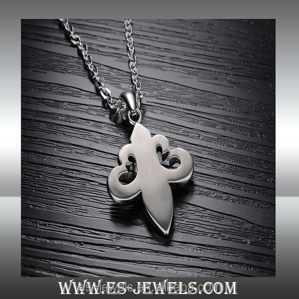 European and American fashion rock style titanium necklaces pendants