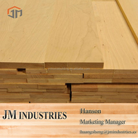 Economical solid wood wall thickness panel from JM Group manufacturer