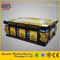 Mini coin operated video shooting arcade 3D Red Dragon Yellow Dragon fishing game machine fish hunter games 2016 hottest