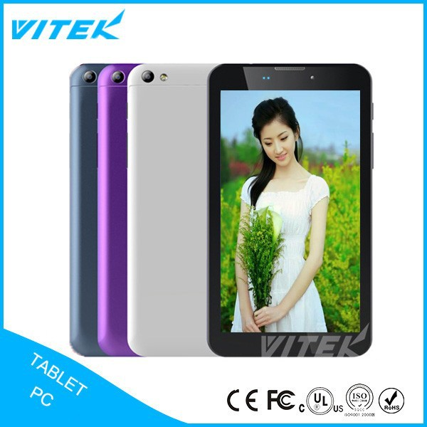 New Products 6inch 3g Wifi video call dual sim android tablet phone