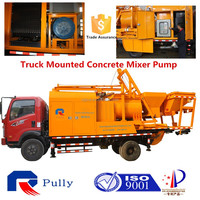 diesel pump mortar pump concrete mixer machine used trucks