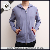 wholesale High quality hoodies for men ,Casual cashmere cardigan sweater
