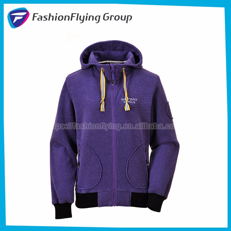 FL4101A New Design Fashion Outdoor One Piece Fleece Jacket