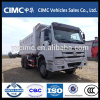 Heavy Duty 10 Wheels Sinotruk HOWO 6*4 Dump Truck