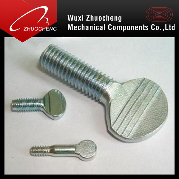 China supplier Carbon steel Thumb Screw with ISO certification