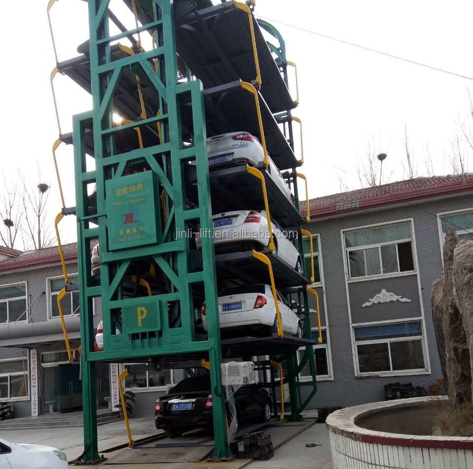 smart Automated car parking system/vertical car parking system rotating/Multi-level Rotating Platform Car Parking System